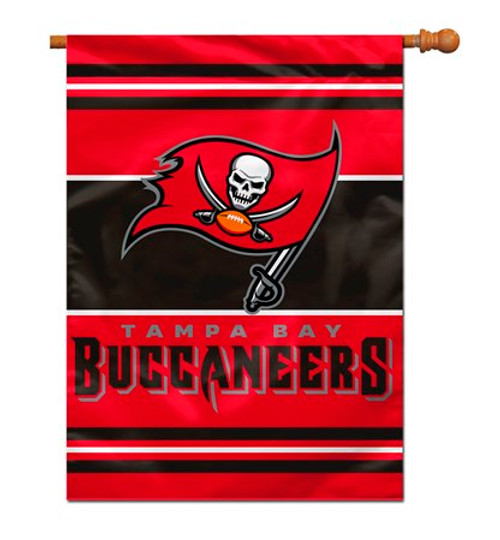 """Tampa Bay Bucaneers """"28 X 40"""" 2-Sided House Banner"""