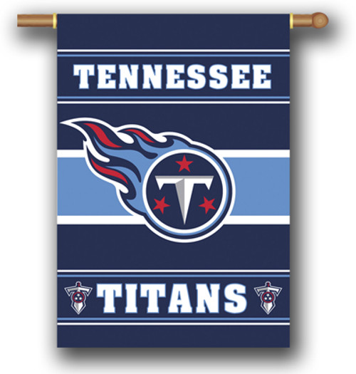 "Tennessee Titans ""28 X 40"" 2-Sided House Banner"