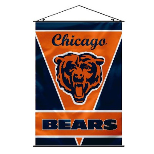 Chicago Bears NFL Wall Banner