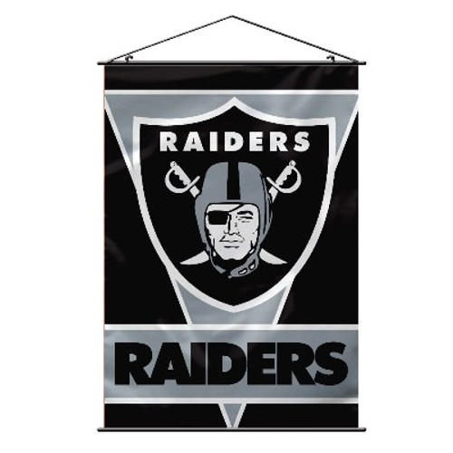 Oakland Raiders NFL Wall Banner