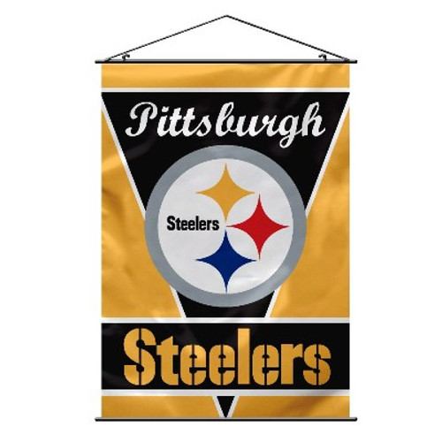 Pittsburgh Steelers NFL Wall Banner