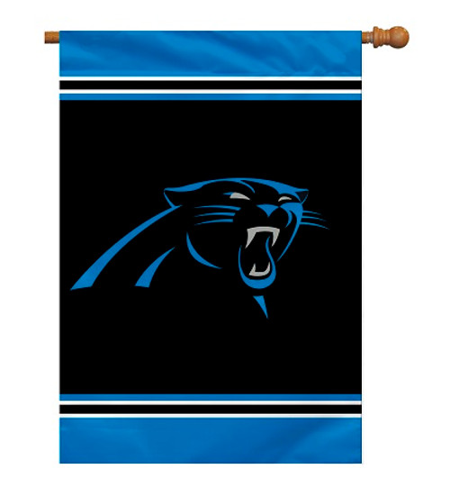 "Carolina Panthers 28"" x 40"" 1- Sided House Banner"
