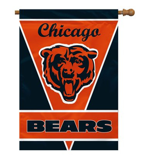 "Chicago Bears 28"" x 40"" 1- Sided House Banner"