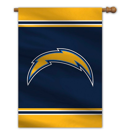"""Los Angeles Chargers 28"""" x 40"""" 1- Sided House Banner"""