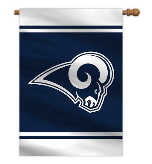 """Los Angeles Rams 28"""" x 40"""" 1- Sided House Banner"""