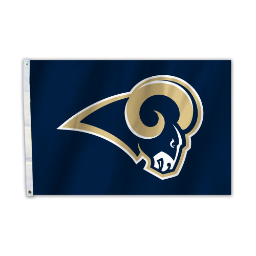 Los Angeles Rams 2 Ft. X 3 Ft. Flag W/Grommets