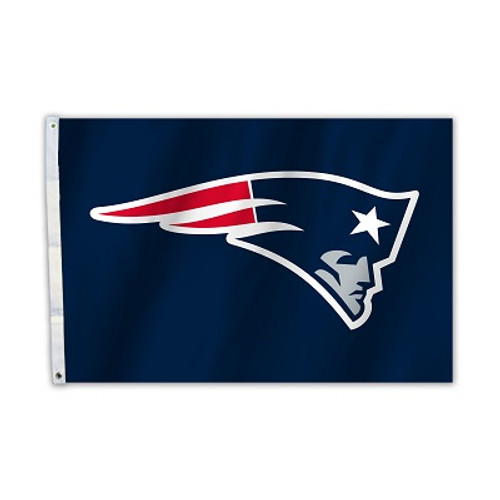 New England Patriots 2 Ft. X 3 Ft. Flag W/Grommets