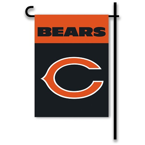 "Chicago Bears 13"" x 18"" 2-Sided Home / Yard Flag"