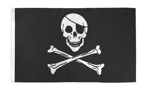 Pirate (Regular) Flag 2x3ft Poly