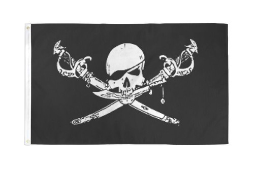 Brethren of the Coast Pirate Flag 2x3ft Poly