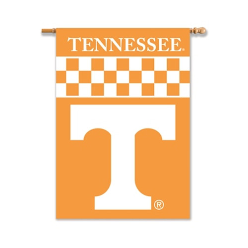 "Tennessee Volunteers 2-Sided 28"" X 40"" Banner W/ Pole Sleeve"