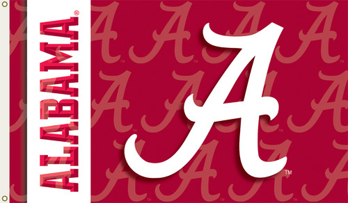 Alabama Crimson Tide 2-Sided 3 Ft. X 5 Ft. Flag W/Grommets
