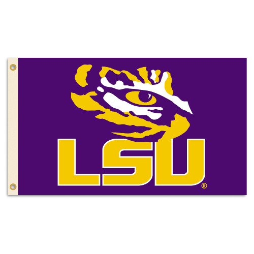LSU Tigers 2-Sided 3 Ft. X 5 Ft. Flag W/Grommets