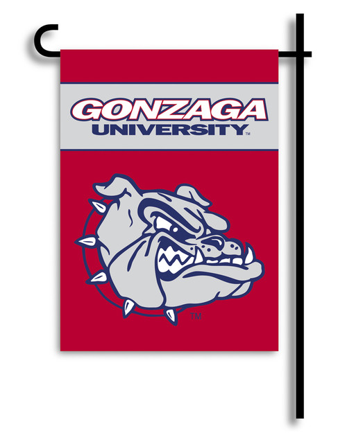 Gonzaga Bulldogs 2-Sided Garden Flag