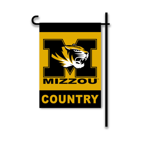 Missouri Tigers 2-Sided Country Garden Flag