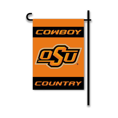 Oklahoma State Cowboys 2-Sided Country Garden Flag