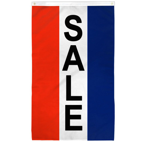 Sale (Vertical) Flag 2x3ft Poly