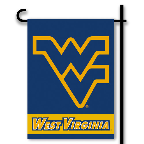 West Virginia Mountaineers 2-Sided Garden Flag
