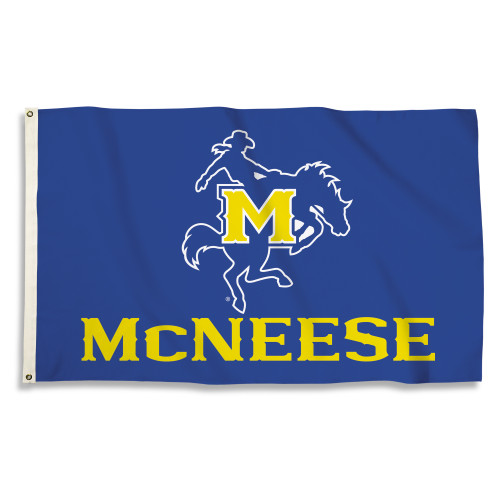 McNeese State Cowboys 3 Ft. X 5 Ft. Flag W/Grommets