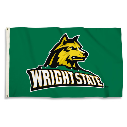 Wright State Raiders 3 Ft. X 5 Ft. Flag W/Grommets