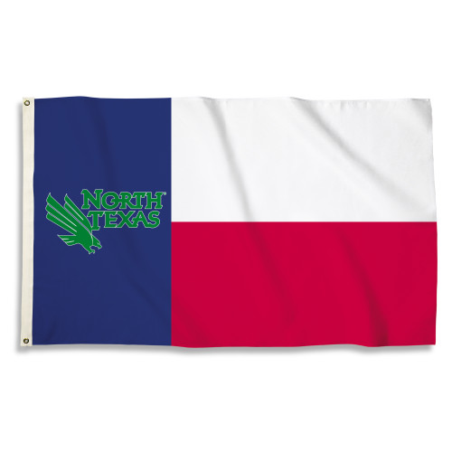 North Texas Mean Green 3 Ft. X 5 Ft. Flag W/Grommets
