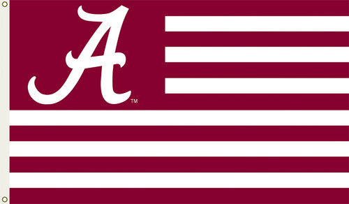 Alabama Crimson Tide 3 Ft. X 5 Ft. Flag W/Grommets