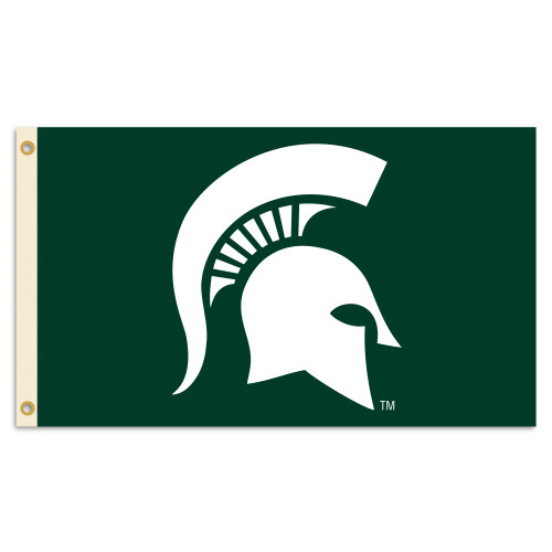 Michigan State Spartans 3 Ft. X 5 Ft. Flag W/Grommets