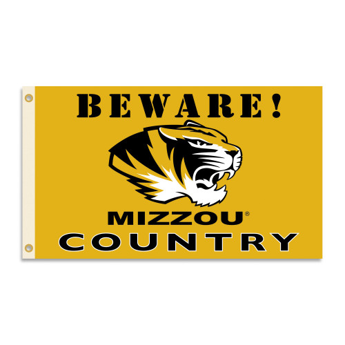 Missouri Tigers 3 Ft. X 5 Ft. Flag W/Grommets - Country