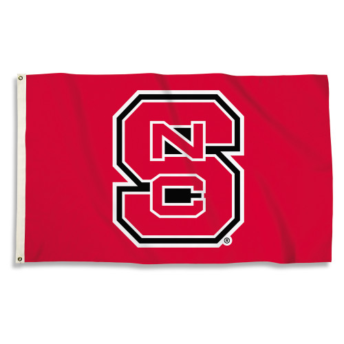 North Carolina State Wolfpack 3 Ft. X 5 Ft. Flag W/Grommets