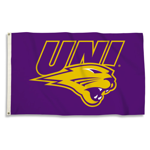 Northern Iowa 3 Ft. X 5 Ft. Flag W/Grommets