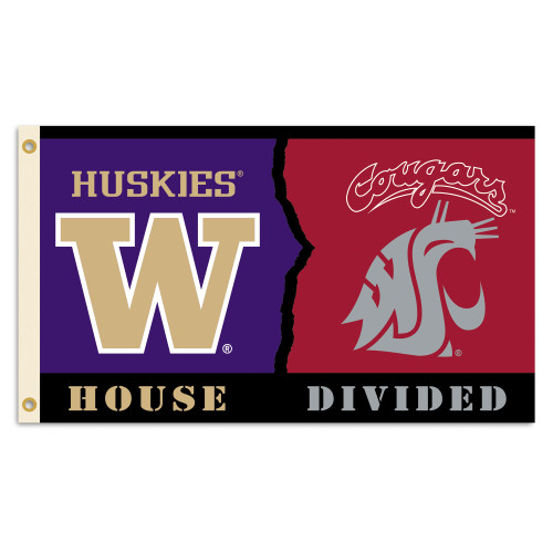 Washington - Washington State 3 Ft. X 5 Ft. Flag W/Grommets - Rivalry House Divided