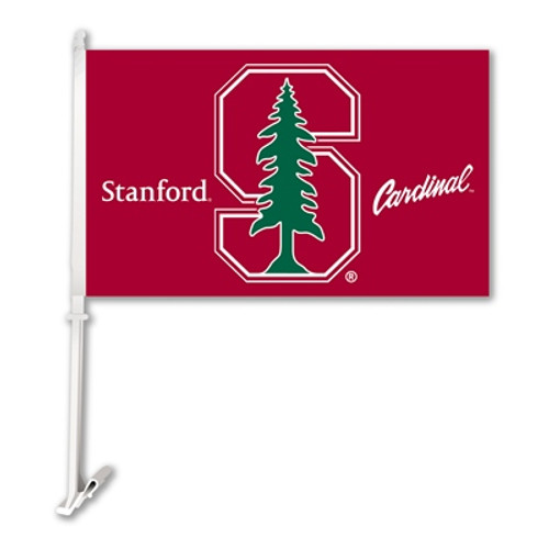Stanford Cardinal Car Flag