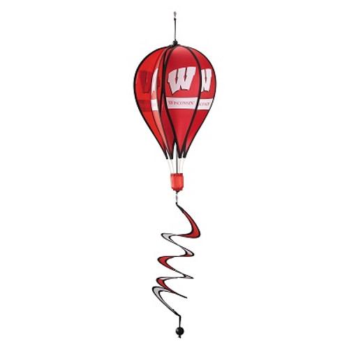 Wisconsin Badgers Hot Air Balloon Spinner