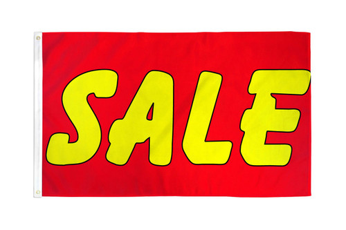 Sale (Red & Yellow) 3x5ft DuraFlag