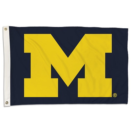 Michigan Wolverines 2 Ft. X 3 Ft. Flag W/Grommets