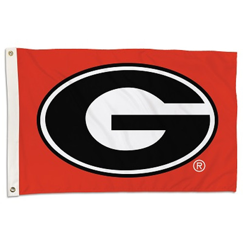 Georgia Bulldogs 2 Ft. X 3 Ft. Flag W/Grommets