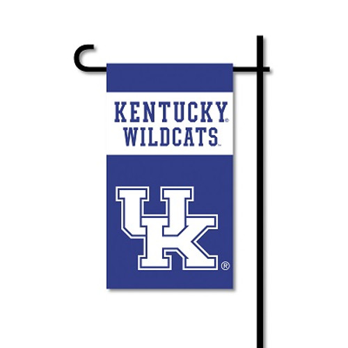 Kentucky Wildcats Mini Garden Flag w/ Pole