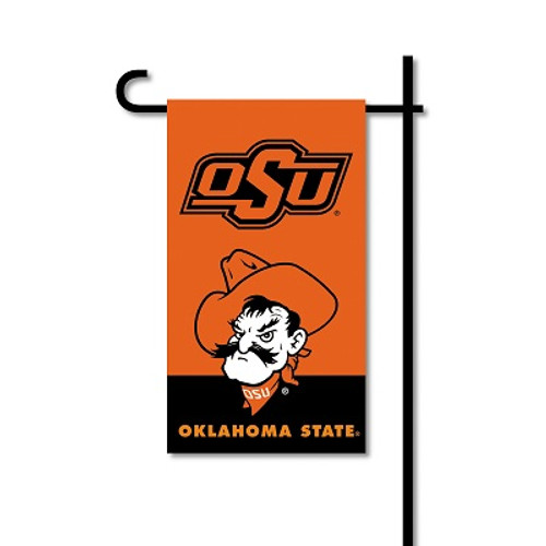Oklahoma State Cowboys Mini Garden Flag w/ Pole