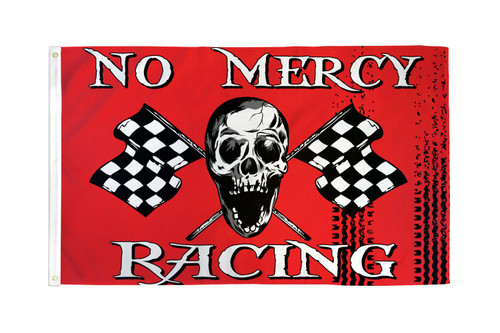 No Mercy Racing Flag 3x5ft Poly