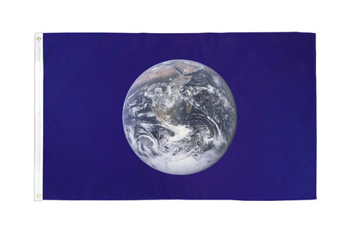 Earth Flag 3x5ft Poly