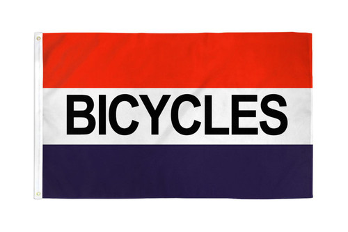 Bicycles Flag 3x5ft Poly