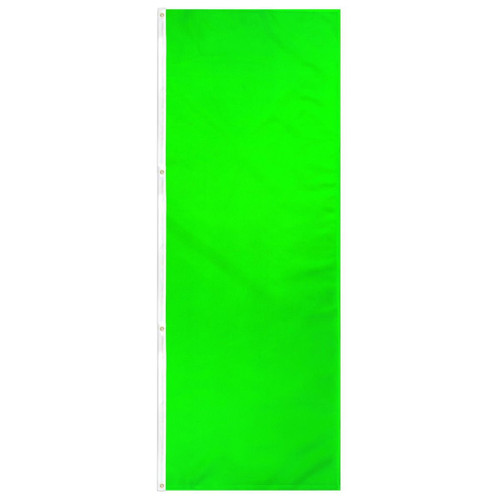 Neon Green Solid Color 3x8ft DuraFlag Banner