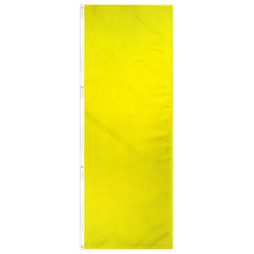 Yellow Solid Color 3x8ft DuraFlag Banner