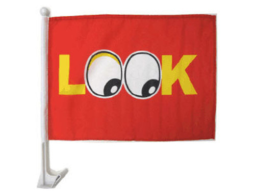 Look Single-Sided Car Flag