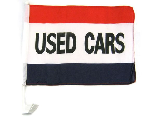 Used Cars Single-Sided Car Flag