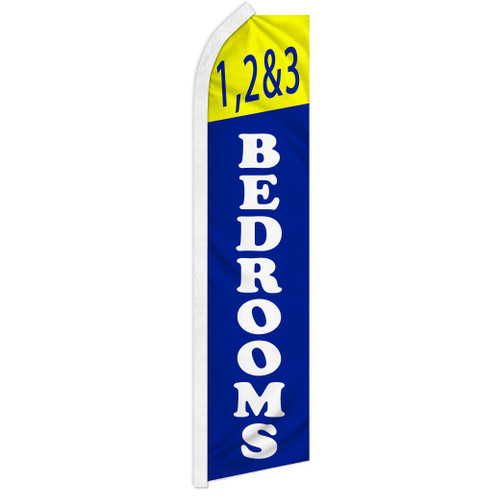 1, 2, & 3 Bedrooms Super Flag