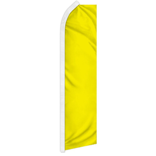 Yellow Solid Color Super Flag