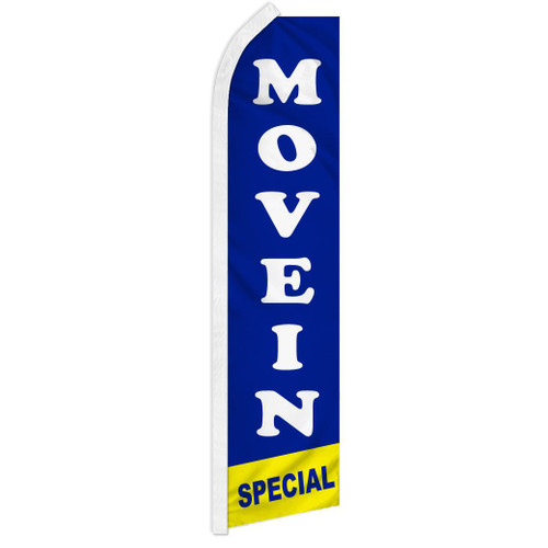 Move In Special (Blue) Super Flag