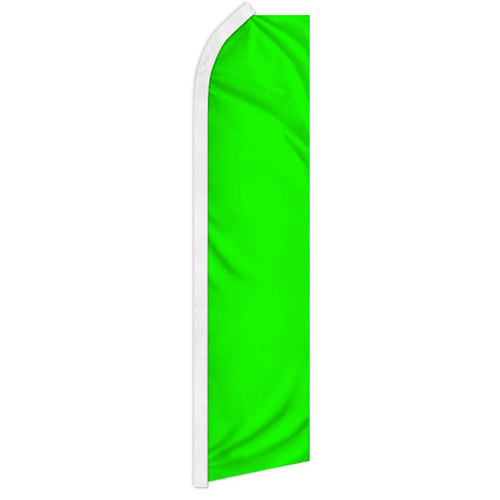Neon Green Solid Color Super Flag