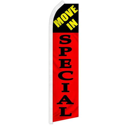 Move in Special (Red) Super Flag